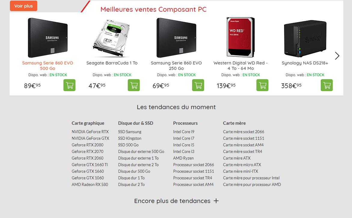 composants de PC